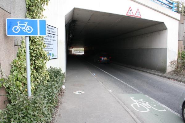 George Best Belfast City Airport Access Underpass