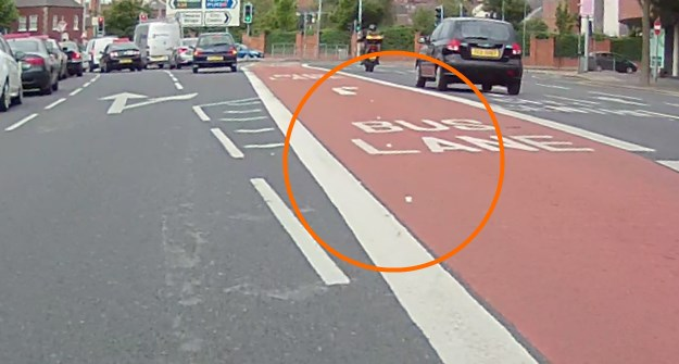 East Bridge Street bus lane reduced