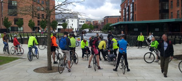 Bike Week Ride on Belfast