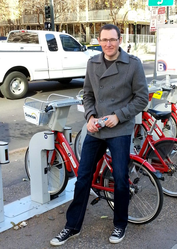 Chris and the Denver B-Cycles