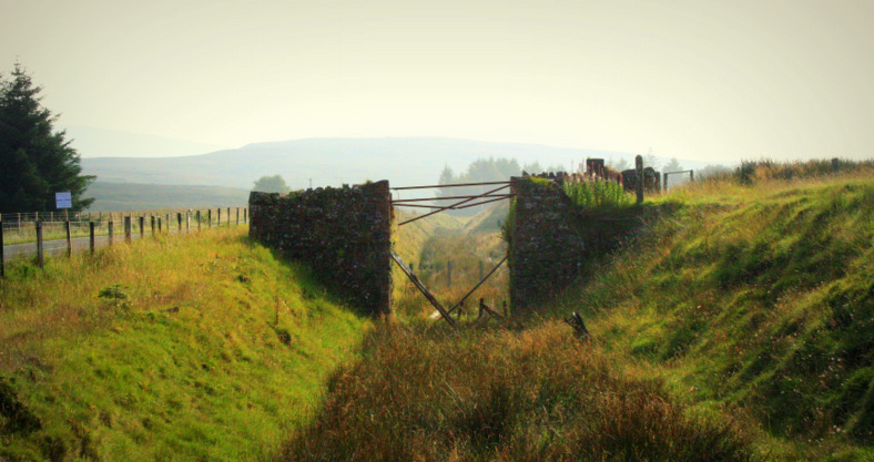 Braced bridge near Parkmore