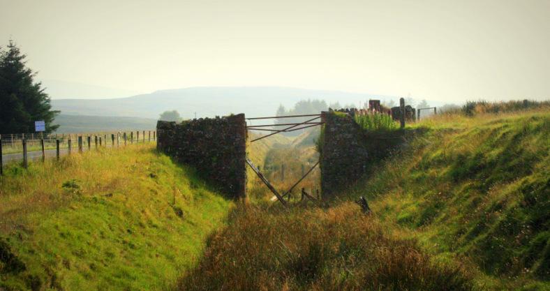 Braced bridge near Parkmore