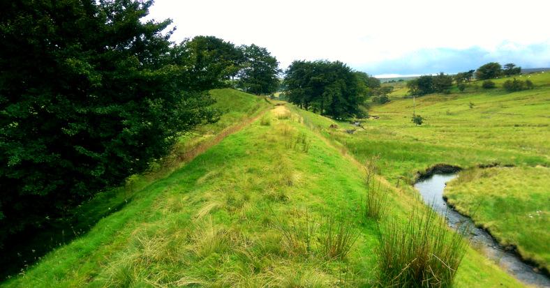 Looking towards Cargan from Glenravel