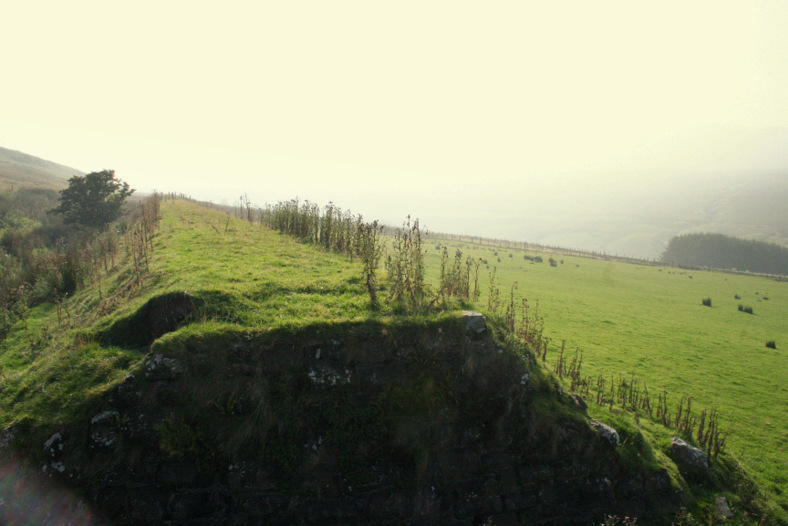 Looking back towards Parkmore from Crockalough