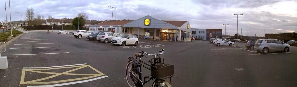 Lidl Castlereagh car park