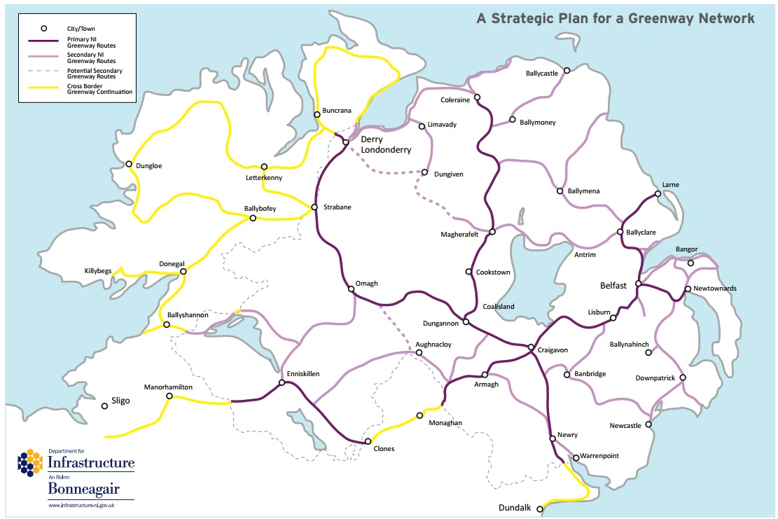 Government strategy aims for 1 000km of greenways across for Plan ireland